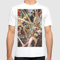 Dragon Fight    [PLANTS]   [VINES] MEDIUM Mens Fitted Tee White