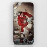 dentist iPhone & iPod Skins featuring The Dentist by Ryan Smith