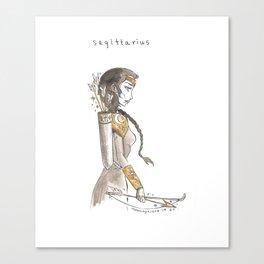 Sagittarius Canvas Print