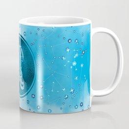 Aquarius Zodiac Sign Air Element Coffee Mug