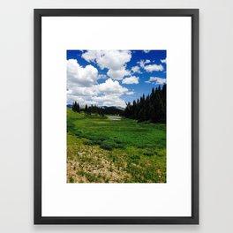 Mountains 7 Framed Art Print