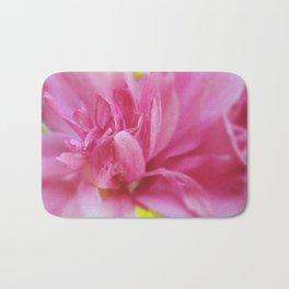 Hot Pink Violet Hibiscus Flower Petals Nature Photography Bath Mat