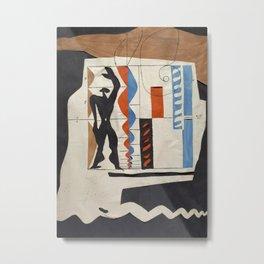 The Modulor Sketch by Le Corbusier Metal Print