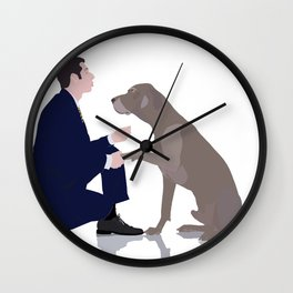 Me and you in a relationship Wall Clock