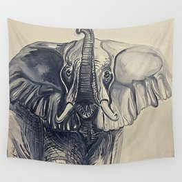 Trunks Up Wall Tapestry
