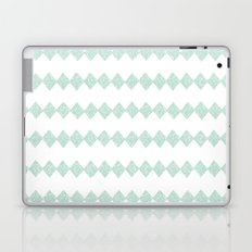 Green Diamonds Laptop & iPad Skin