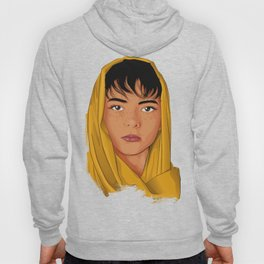 The Girl with the Yellow Scarf - Mona Lala Hoody