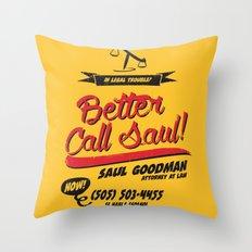 Better Call Saul Throw Pillow