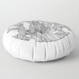 Reticulated Floor Pillow