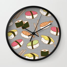 Sushi lover Wall Clock