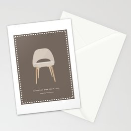 Mid-Century Executive Side Chair Stationery Cards