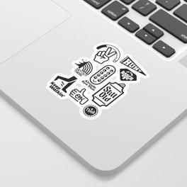 Flash Sheet Sticker