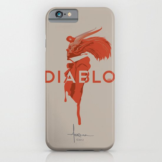 DIABLO409 iPhone & iPod Case