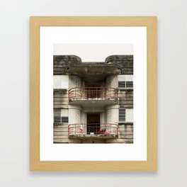Falansterio Framed Art Print