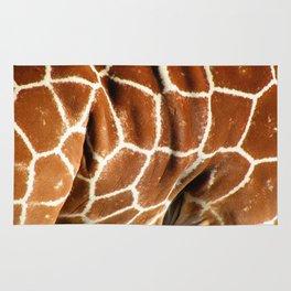 Giraffe Skin Close-up Rug