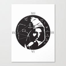 Symbols theme Canvas Print