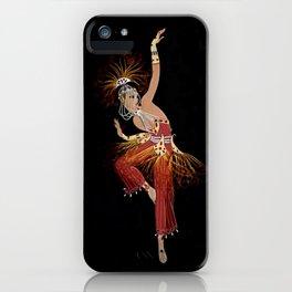 """Firebird Dancer"" Art Deco Image iPhone Case"