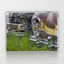 Vintage Frazer Auto Wreck Front Ends Laptop & iPad Skin
