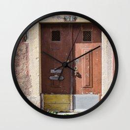 DOOR, PORTE Wall Clock