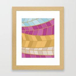 GOLDMOSAIC2 Framed Art Print