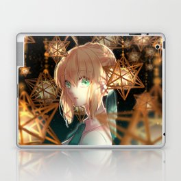 Saber Fate/Stay Night Laptop & iPad Skin