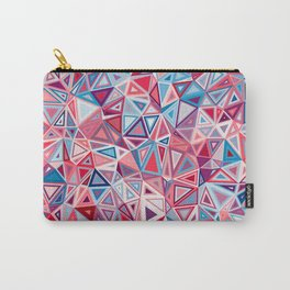 Colorful Low Poly Design Carry-All Pouch