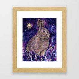Rabbit Spirit Framed Art Print