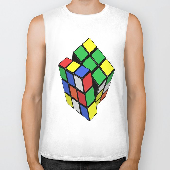 Magic Cube Rubik's_cube Biker Tank