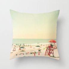 Summer of Love III Throw Pillow