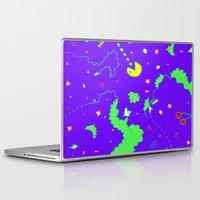 pac man Laptop & iPad Skins featuring Pac-Man by Amanda Trader