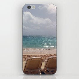 View from the Beach iPhone Skin