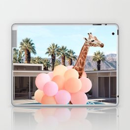 Giraffe Palm Springs Laptop & iPad Skin