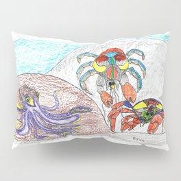 Cuttlefish & Coconut Crabs Pillow Sham