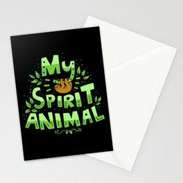 My Spirit Animal | Sloth Lazy Stationery Cards