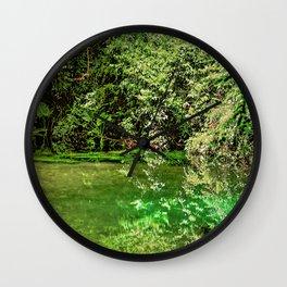 Orara River 2 Wall Clock