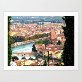 Fair Verona Art Print
