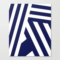 Nautical Stripes Canvas Print