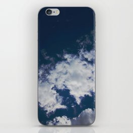 Wonky Clouds iPhone Skin