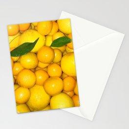 Bright Lemons & Kumquats Stationery Cards
