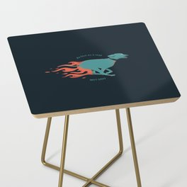 Hot dog Side Table