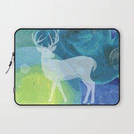 Deer in Blue Waters Laptop Sleeve