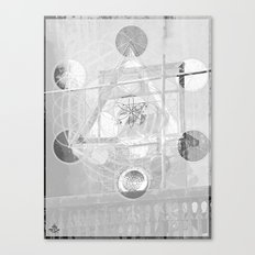 7°mono^Up Canvas Print