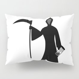 New Year Icon Father Time Pillow Sham