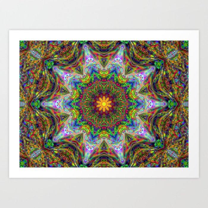 Flower of Love Art Print