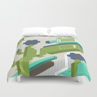 tequila Duvet Covers featuring Tequila Party by Bakal Evgeny