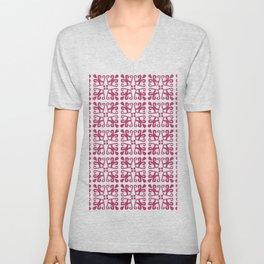 A motif from Borneo Unisex V-Neck