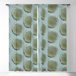 Slice of Lemon – Watercolour Blackout Curtain