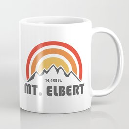Mt. Elbert, Colorado Coffee Mug
