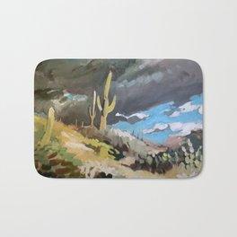 Sonoran Desert Storm Bath Mat