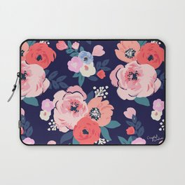 Aurora Floral Laptop Sleeve
